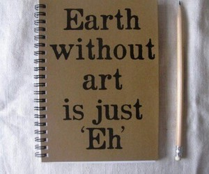 art, earth, and quote image
