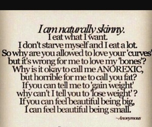 anorexia, b, and beauty image