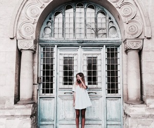 girl, architecture, and travel image