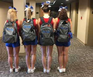 bows, cheer, and squad image