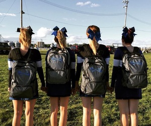 bag, best friends, and bows image