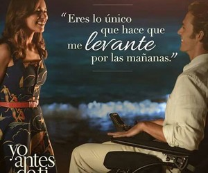 yo antes de ti, frases, and me before you image
