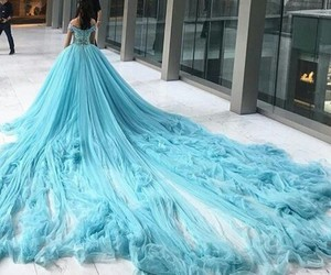 blue dress image