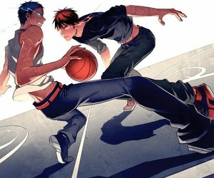 kuroko no basket, anime, and kagami taiga image