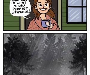 rain, weather, and perfect image