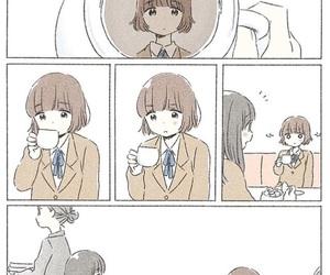 anime girl, friendship, and kawaii image