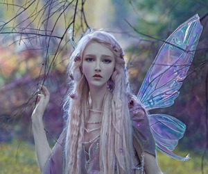 fairy, fantasy, and girl image