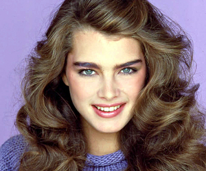 brooke shields and hair image