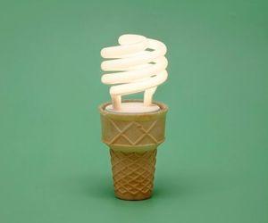 cone, illustration, and ice cream image
