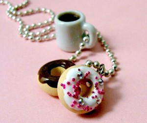 accessories, donuts, and food image