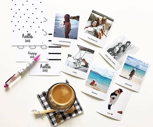 cofee, instax, and picture image
