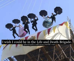 gilmore girls and life and death brigade image