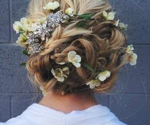 beautiful, girl, and long hairs image