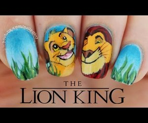 disney, girl, and nails image