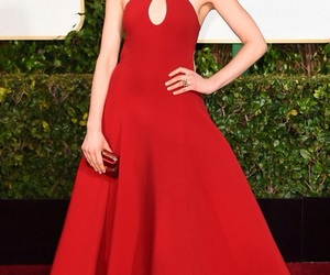 red carpet, dresses, and golden globes image