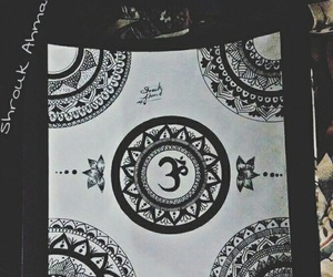 art, dibujo, and mandala image