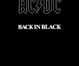 ACDC and black image