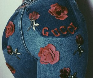 aesthetic, gucci, and red image