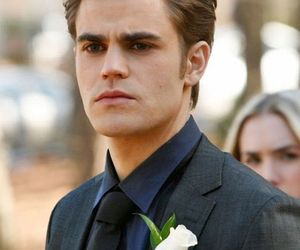 stefan salvatore, paul wesley, and the vampire diaries image