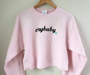 pink, pastel, and crybaby image