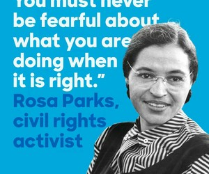 civil rights, martin luther king, and rosa parks image