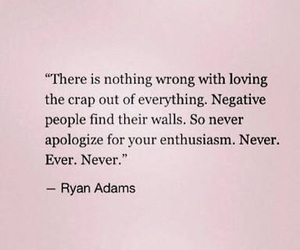 quotes, love, and enthusiasm image