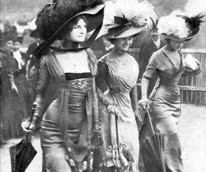 vintage, fashion, and 1908 image