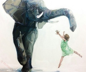 elephant and art image