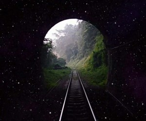 beautiful, coldplay, and tunnel image