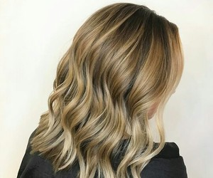 blond, hair, and rubia image