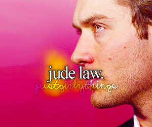 jude law and just girly things image