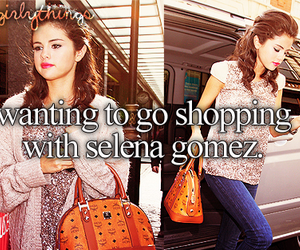 selena gomez and just girly things image