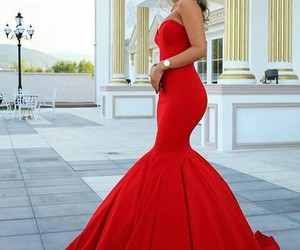 body, Prom, and dress image