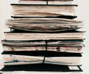 journals, notebooks, and sketch books image