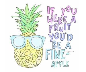 cool and pineapple image
