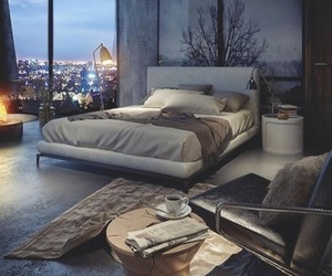 bedroom, city, and design image