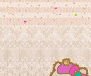 glitter, HelloKitty, and kawaii image