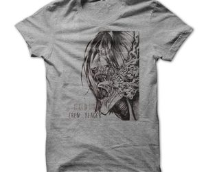 anime, attack on titan, and anime t-shirt image