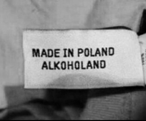 Poland, black and white, and made in image