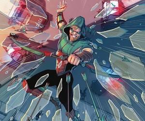 arrow, DC, and dc comics image