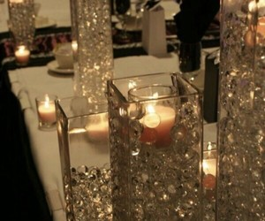 candles, decoration, and light image