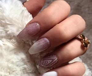 glitters, nails, and style image