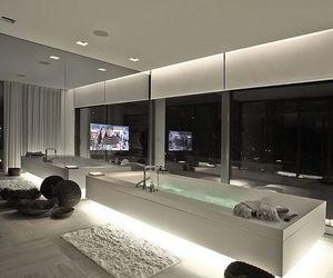luxury, house, and bathroom image