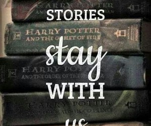 book, harry potter, and story image