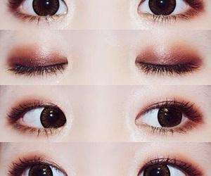 makeup, eyes, and ulzzang image