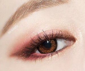 korean, makeup, and eye makeup image