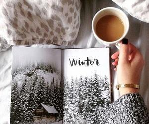 coffee, winter, and christmas image