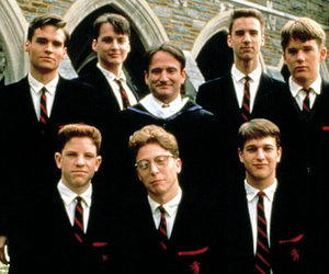 dead poets society, robin williams, and ethan hawke image
