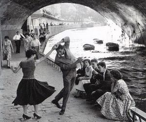 dance, vintage, and paris image