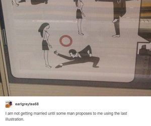 funny, lol, and proposal image